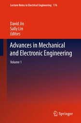 Advances in Mechanical and Electronic Engineering by David Jin
