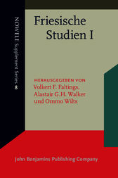 Friesische Studien I by Volkert F. Faltings