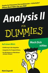 Analysis II für Dummies by Mark Zegarelli