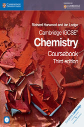 Cambridge IGCSE Chemistry Coursebook with CD-ROM by Richard Harwood