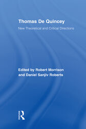 Thomas De Quincey by Robert Morrison