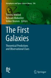 The First Galaxies