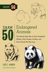 Draw 50 Endangered Animals by Lee J. Ames