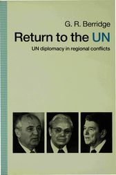 Return to the UN by G. R. Berridge