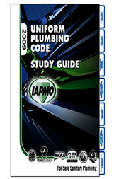 2009 Uniform Plumbing Code Study Guide by IAPMO
