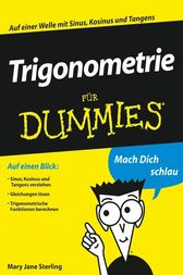 Trigonometrie für Dummies by Mary Jane Sterling