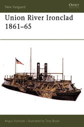 Union River Ironclad 1861-65 by Angus Konstam