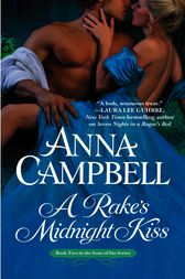 A Rake's Midnight Kiss by Anna Campbell