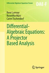 Differential-Algebraic Equations: A Projector Based Analysis by René Lamour