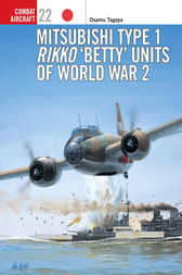 Mitsubishi Type 1 Rikko Betty Units of World War 2 by Osamu Tagaya