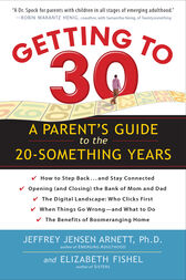 Getting to 30 by Jeffrey Jensen Arnett
