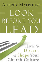 Look Before You Lead by Aubrey Malphurs