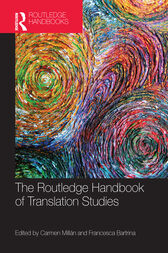 The Routledge Handbook of Translation Studies by Carmen Millán