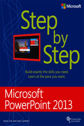 Microsoft PowerPoint 2013 Step by Step by Joan Lambert