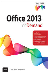 Office 2013 On Demand by Steve Johnson