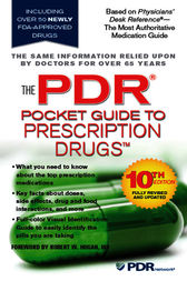 The PDR Pocket Guide to Prescription Drugs by PDR Staff