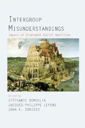 Intergroup Misunderstandings by Stephanie Demoulin