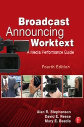 Broadcast Announcing Worktext by Alan Stephenson