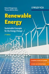 Renewable Energy - Sustainable Energy Concepts  for the Energy Change