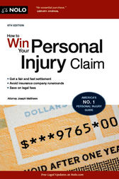 How to Win Your Personal Injury Claim by Joseph Matthews
