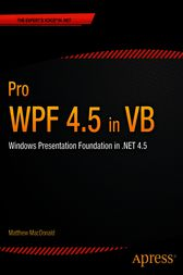 Pro WPF 4.5 in VB by Matthew MacDonald