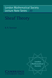 Sheaf Theory by B. R. Tennison