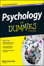Psychology For Dummies by Adam Cash