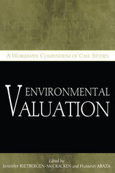 Environmental Valuation by Jennifer Rietbergen-McCracken