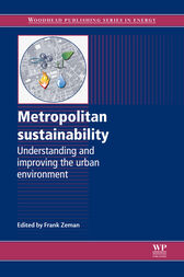 Metropolitan Sustainability by F Zeman