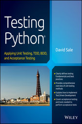 Testing Python by David Sale