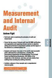 Measurement and Internal Audit by Andrew Fight