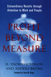 Profit Beyond Measure by Anders Broms