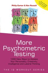 More Psychometric Testing by Philip Carter