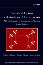 Statistical Design and Analysis of Experiments by Robert L. Mason