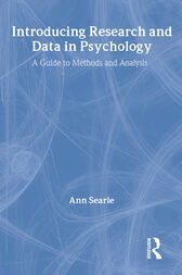 Introducing Research and Data in Psychology by Ann Searle