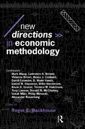 New Directions in Economic Methodology by Roger E. Backhouse