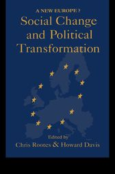 Social Change And Political Transformation by Howard Davis