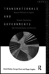 Transnationals and Governments by David Bailey