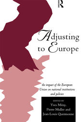 Adjusting to Europe by Yves Meny