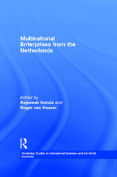 Multinational Enterprises from the Netherlands by Rajneesh Narula