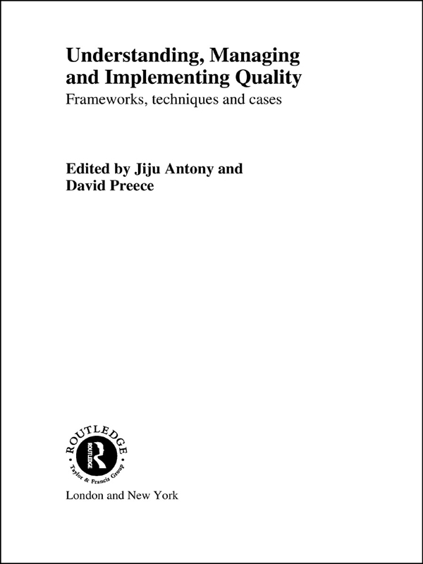 Download Ebook Understanding, Managing and Implementing Quality by Jiju Antony Pdf