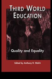 Third World Education by Anthony R. Welch