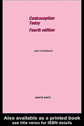 Contraception Today: Pocketbook by John Guillebaud