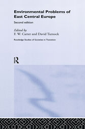 Environmental Problems in East-Central Europe by Frank Carter