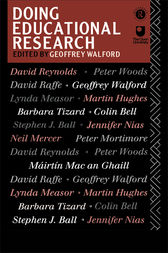 Doing Educational Research by Geoffrey Walford
