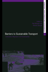 Barriers to Sustainable Transport by Piet Rietveld