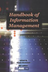 Handbook of Information Management by Alison Scammell