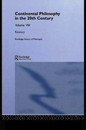 Routledge History of Philosophy Volume VIII by Richard Kearney