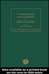 Comparative Management by Malcolm Warner