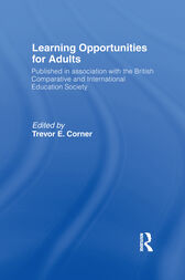 Learning Opportunities for Adults by Trevor Corner